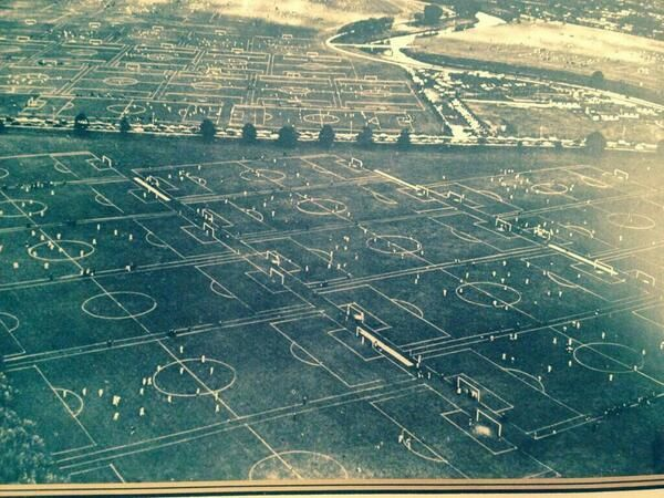 Hackney Marshes, London,  holds the world record for the highest number (88) football pitches in one place. 1951