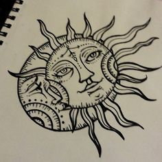 sun and moon wood burning patterns - Google Search