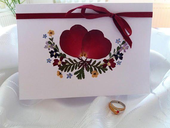 Valentine's Day Love card. Elegant Romantic Wedding