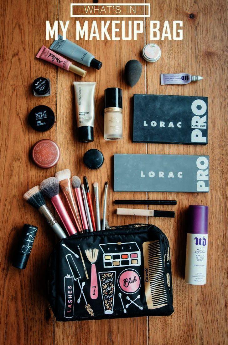Elf Organizer Makeup Bag Unless Makeup Brushes Names And Uses