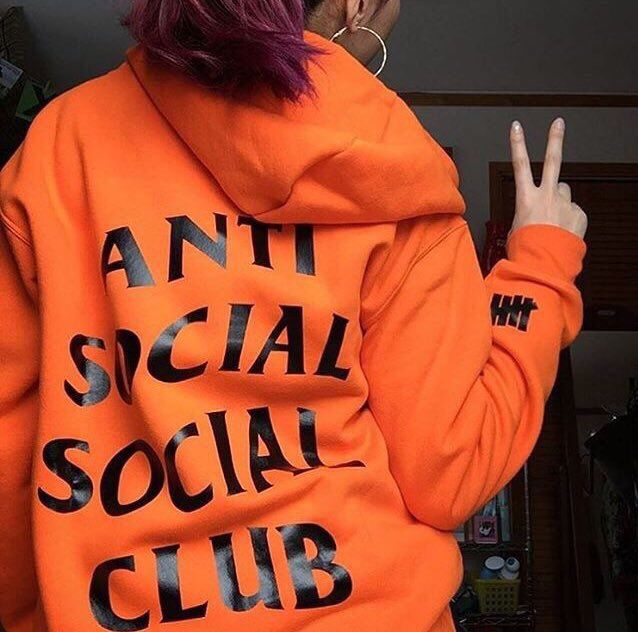 ASSC: Paranoid Hoodie Orange   Go check out https://www.soaestheticshop.com/ Shipping is free & can get 10% off using this code DEZZIE015