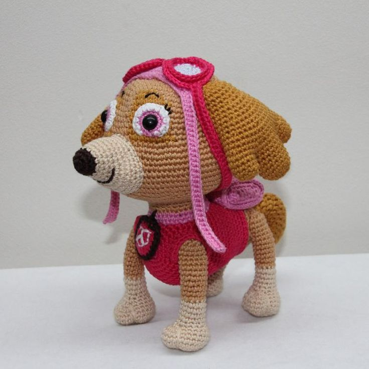 Marshall Paw Patrol Crochet Hat Pattern Free : 1000+ ideas about Paw Patrol Stuffed Animals on Pinterest ...