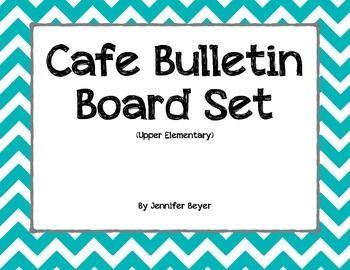 CAFE Bulletin Board Set - Upper Elementary
