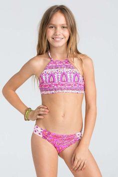 Billabong Girls - Penny Lane Reversible Bikini | Pretty Pink from The Girl & The Water. Saved to Swim.