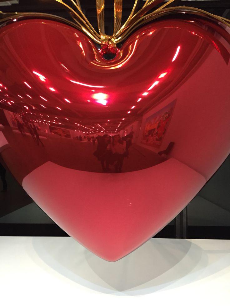 Expo Jeff Koons Paris Beaubourg Sisters in ❤️