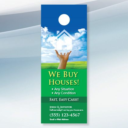 Best Real Estate Door Hanger Designs For Investors Images On