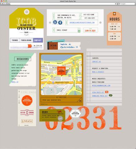 : Webdesign, Restaurant Bar, Creek Oysters, Islands Creek, Oysters Bar, Web Design, Paper Tags, Website Design, Restaurant Website