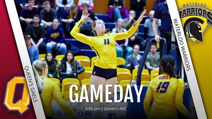 Gameday W Vs Waterloo 6 00 Pm Queens Arc Http Bit Ly 38k9swx Students Free Oua Tv Leadtheway Chagheill Facebook Com In 2020 Gameday Senior Day Queen
