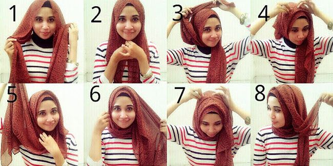 So basically you wont look chubby whilst wearing this hijab style?(1)