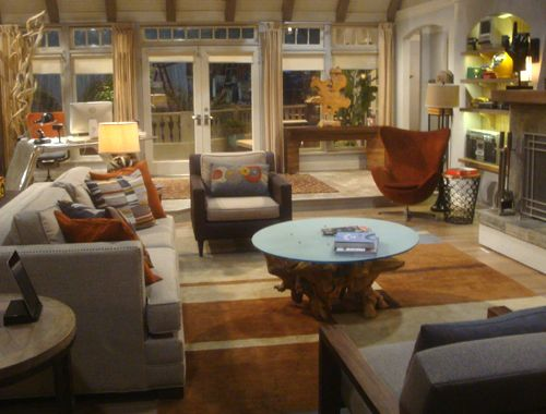 Two And A Half Men Hollywood Homes Set Design Pinterest