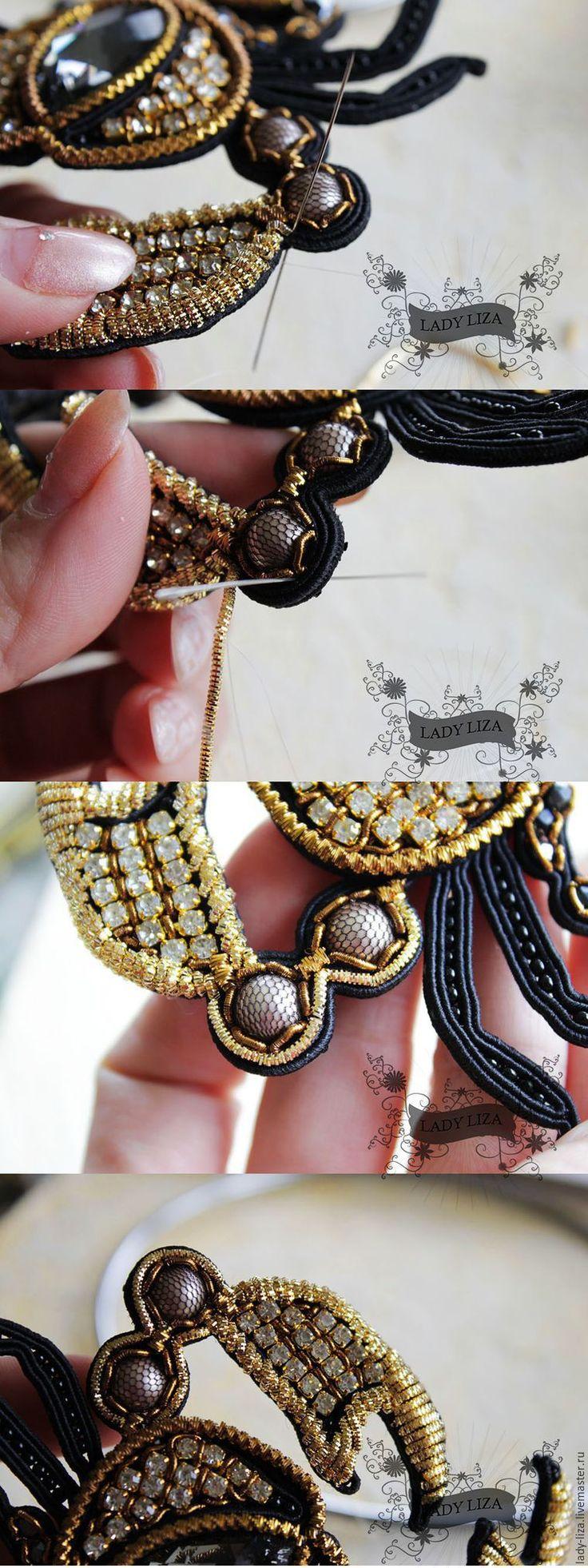 Вышиваем брошь «Королевский краб» - Ярмарка Мастеров - ручная работа, handmade