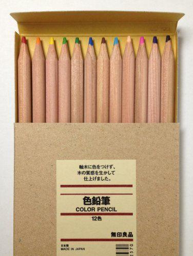 MUJI Japan Colored Pencil [12-colors] $14.49 #bestseller