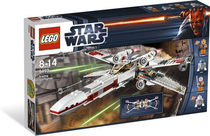 9493-1: X-wing Starfighter | Lego star wars sets, Lego star wars, X-wing starfighter