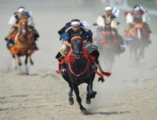 福島の相馬野馬追
