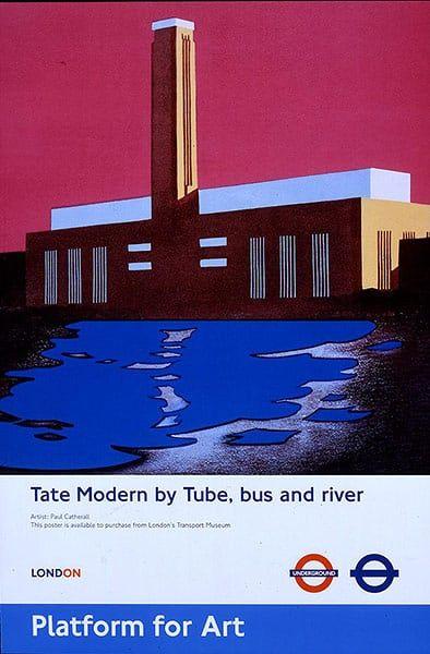 Tube Posters: Tate Modern