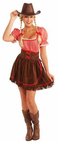 Cowpoke Cutie Cowgirl Costume - Cowgirl Costumes