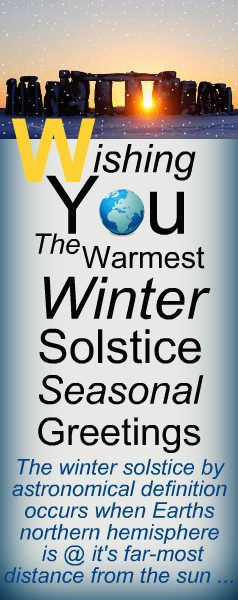 After observers discovered the shortest day of the year did not herald the end of the light and indeed the light would invariably increase, the #winter #solstice became a day – and night – that was celebrated.