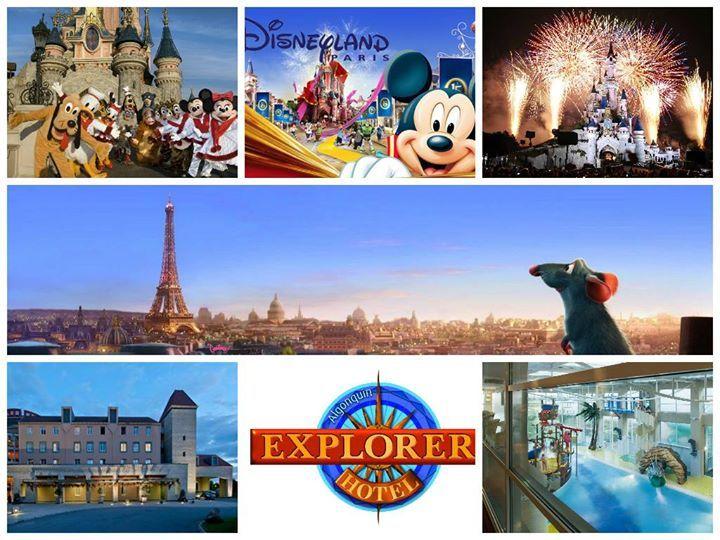 Top Disney aanbiedingen moet je niet laten liggen.  2 dagen Disneyland Parijs in beide parken entree en 1 overnachting + ontbijt in 3* Explorers Hotel nu slechts €91,25 (op basis van 2 volwassenen en 2 kinderen)  http://www.vakantiepiraten.nl/?p=1437