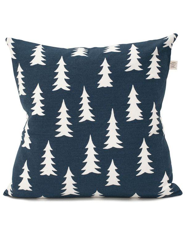 Gran Cushion Cover - Dark Midnight Blue from Artsy Modern via The Third Row