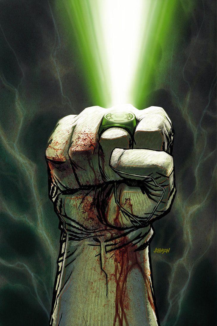 Green Lantern - Dave Johnson