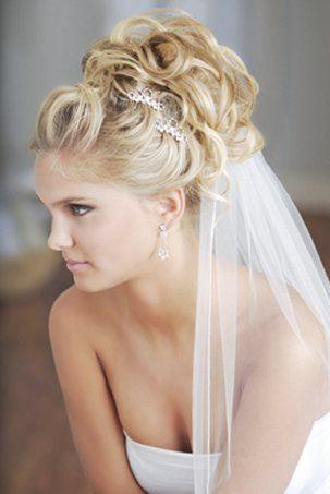 Acconciature per la sposa capelli corti
