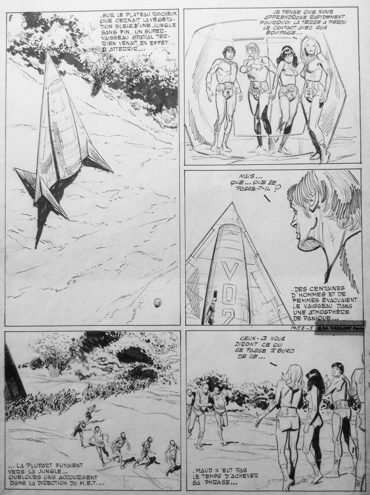 Les pionniers de l'espérance by Raymond Poïvet - Comic Strip