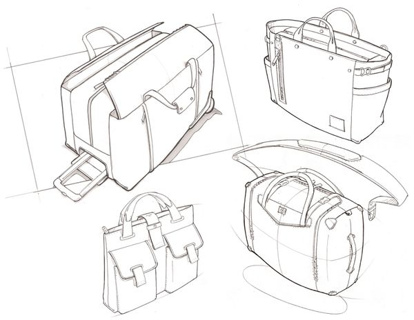 Sketches by Josh Buller, via Behance