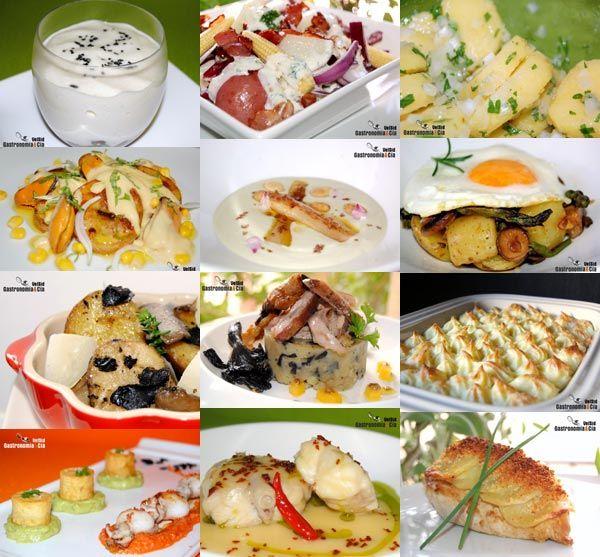 Doce recetas con patatas
