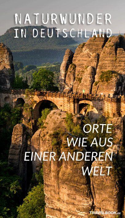 29 Orte in Deutschland, die wie von einer anderen Welt sind