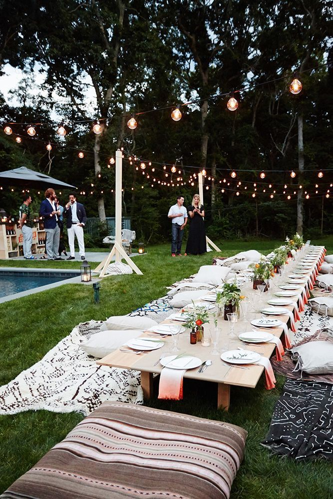 12 Fantastic Dinner Party Ideas We Love | Party Decor | Outdoor
