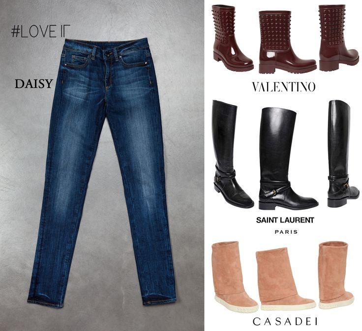 Daisy&Shoes. #loveit #loveitjeans #perfectfit #denim #jeans #daisy #shoes #heels