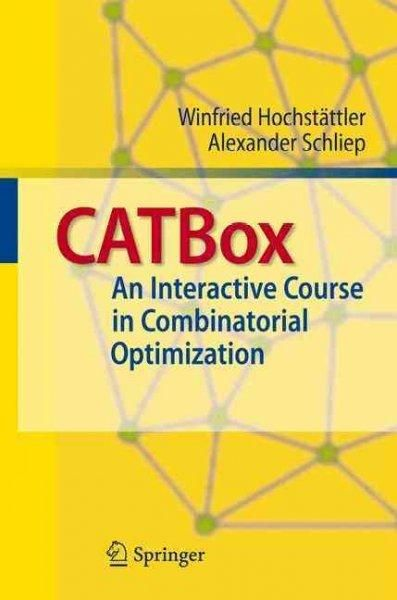 CATBox: An Interactive Course in Combinatorial Optimization