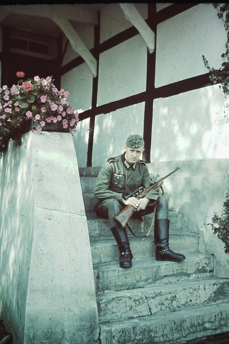 WEHRMACHT soldier (army) Sniper