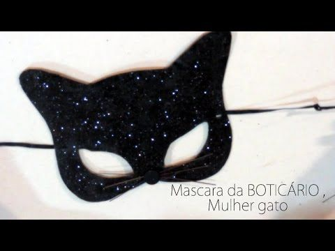 DIY - Máscaras de Carnaval e Halloween - Carnival and Halloween masks - YouTube