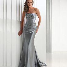 2017 New Formal Longo Frisado Querida Sereia Vestidos de Noite Vestidos de Festa Robe De Soirée Tamanho Pluse alishoppbrasil