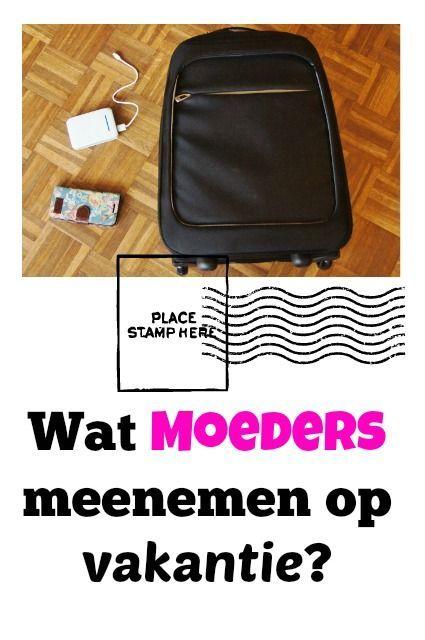 Voor kinderen zijn er uitgebreide paklijsten, maar wat neem je zelf mee als moeder op vakantie? - Mamaliefde.nl: