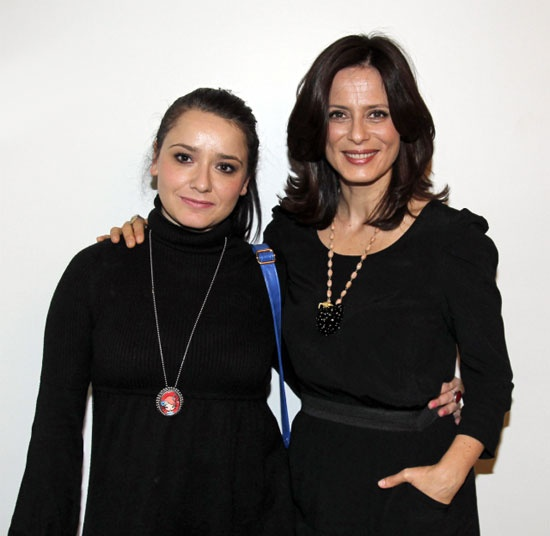 Con Aitana Sanchez-Gijón