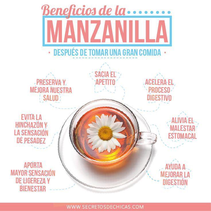 Los beneficios del té de manzanilla   Sentirse bien es facilisimo.com