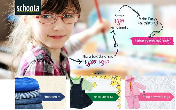 Right now (not sure how long it will last) you can get $15 off kids clothing and free shipping on any size order with Schoola! That means free kids clothes!  #ExtraCreditWeek #ad