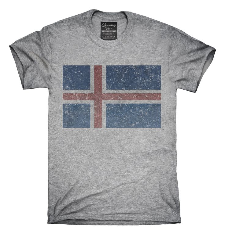Retro Vintage Iceland Flag T-Shirts, Hoodies, Tank Tops