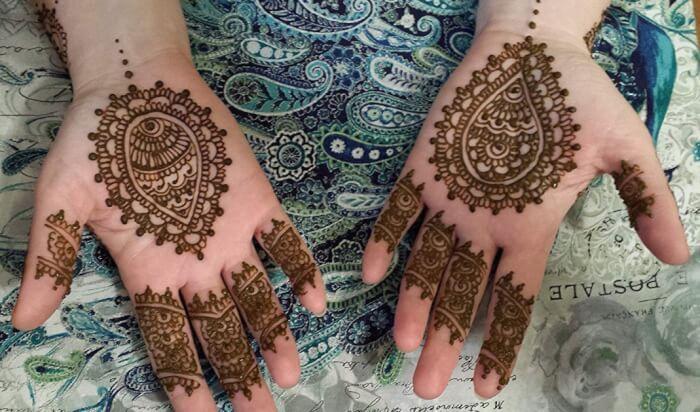 25 Popular Style Motif Henna Untuk Kaki Desain Tato Henna Desain Henna Henna
