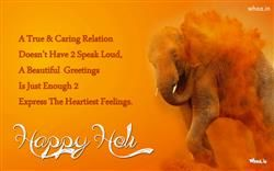 Happy Holi Greetings Quote With A True And Caring Relation, Happy Holly, Holly Greetings Cards And HD Wallpapers For Free Download
