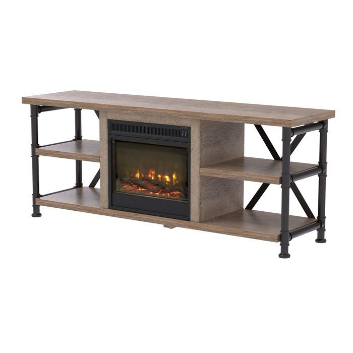 Wentzel Tv Stand For Tvs Up To 78 Fireplace Tv Stand Flat