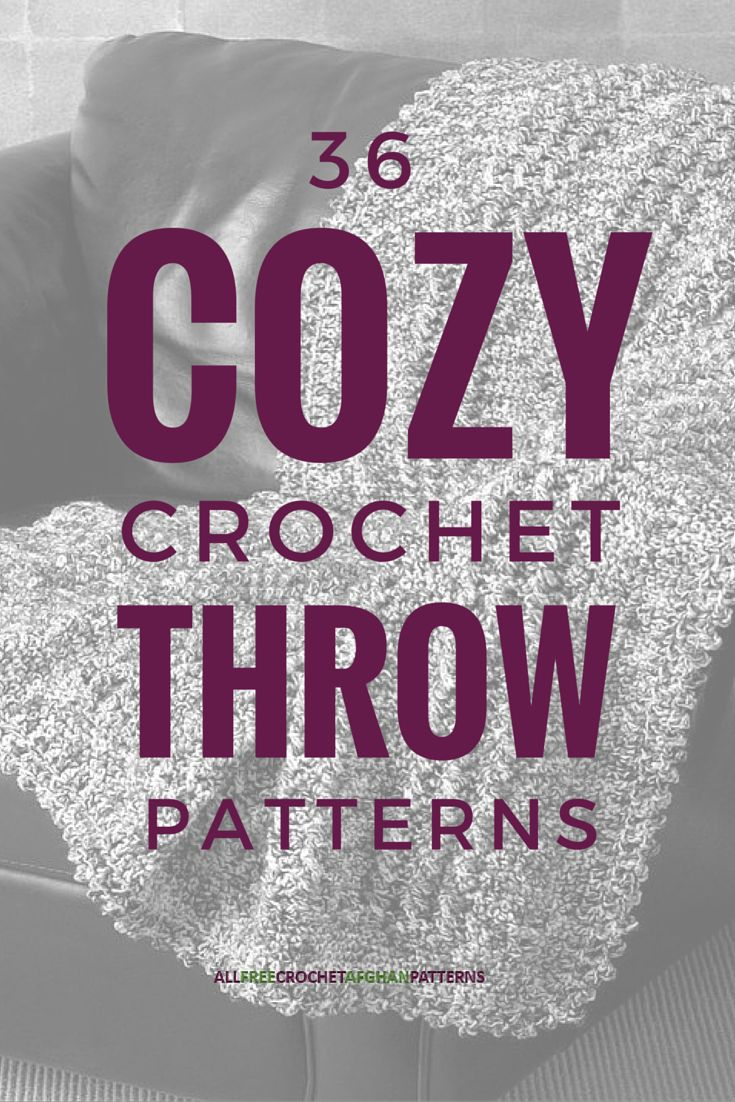 """Crocheters of all skill levels will love these free crochet throw patterns. Try something new, make a memorable gift, or create something to sit on your couch. It doesn't matter which project you make - just """"throw"""" in some creativity and show your personality! You won't be able to stop with just one crochet throw pattern :)"""