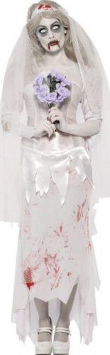 Déguisement zombie mariée femme #Halloween #LeGuide.com