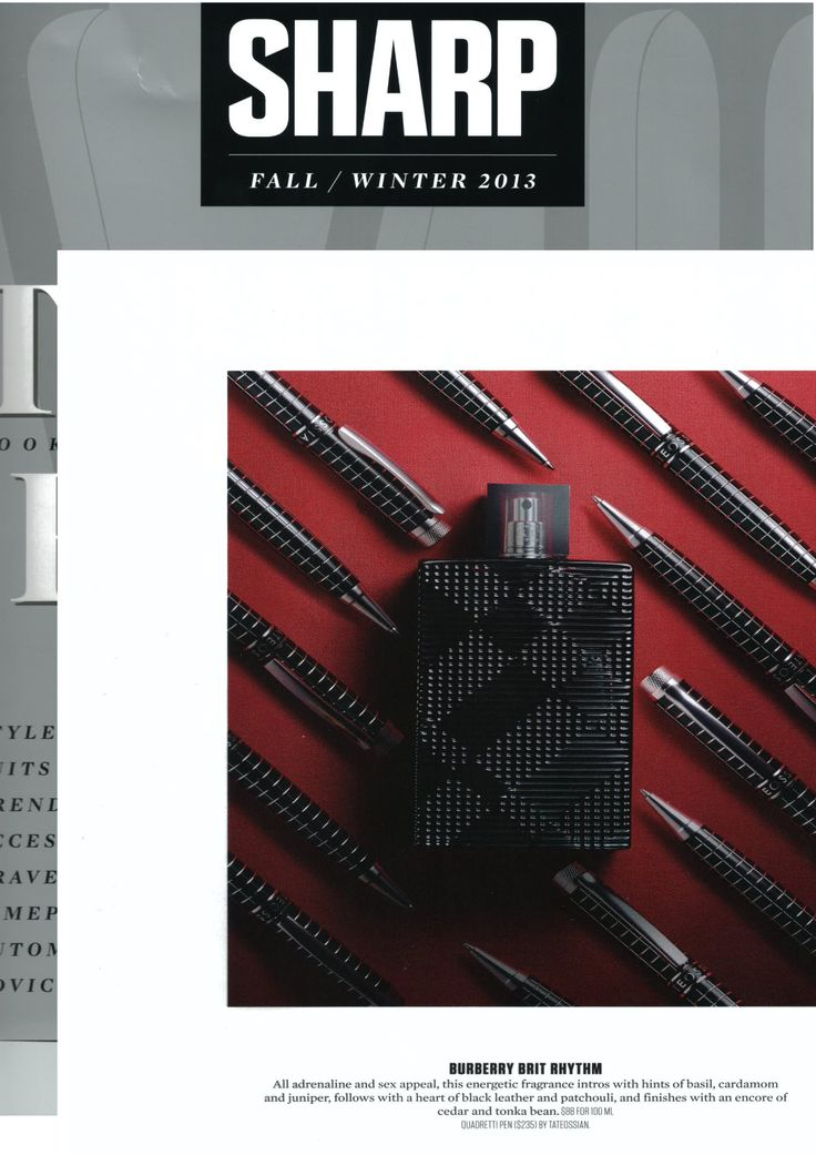 @Sharp Magazine. Fall/Winter 2013 Quadretti Pen http://www.tateossian.com/product/1347/quadretti-pen-ball-point.html