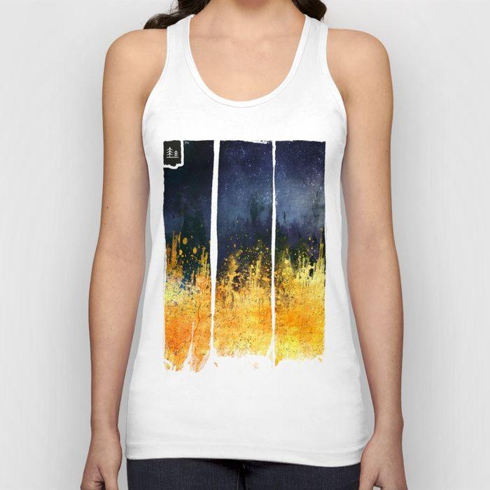 My burning desire Unisex Tank Top by HappyMelvin | Society6