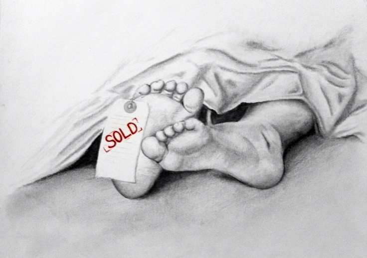 This drawing was done to help raise awareness about human trafficking, a 32 billion dollar industry trading millions of priceless souls.   Re-Pin to help spread awareness