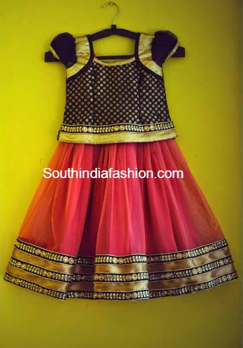 latest kids lehenga models