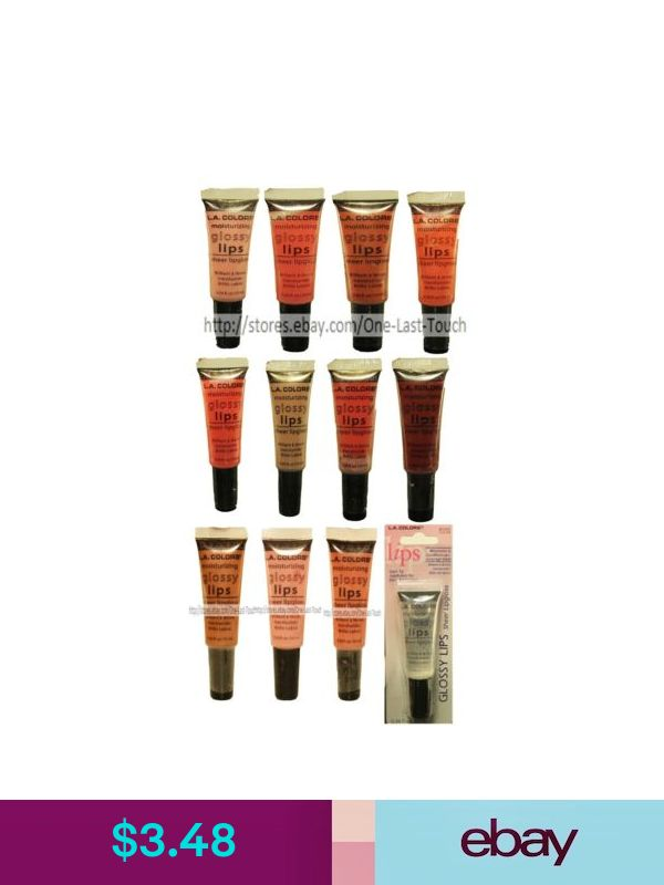 L A Colors Lip Glosses Ebay Health Beauty Glossy Lips Lip
